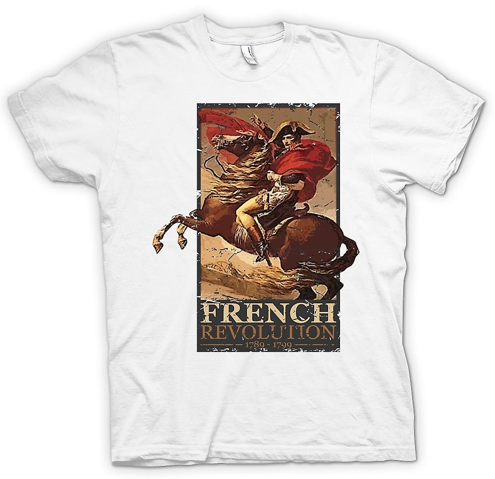 Mens T-shirt - French Revolution - Napoleon Inspired
