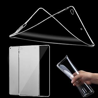 Beschermhoes siliconen glanzende serie transparant cover voor de nieuwe Apple iPad 9.7 2017