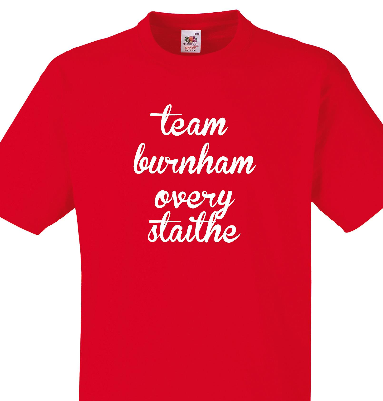 Team Burnham overy staithe Red T shirt
