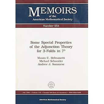 Some special properties of the adjunction theory for 3-folds in P