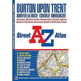 Burton on Trent Street Atlas (A-Z Street Atlas)