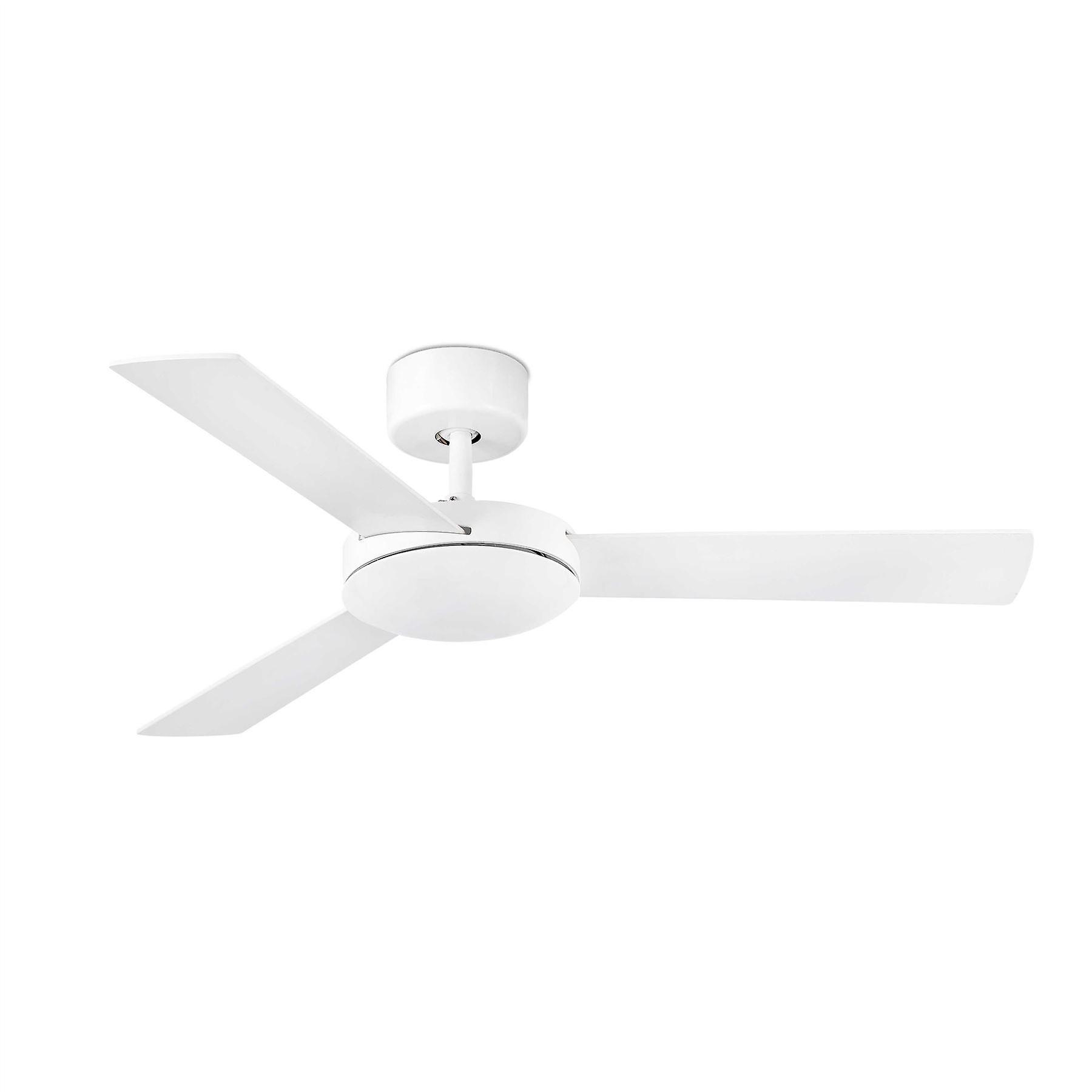 Faro - Mini Mallorca Small blanc Ceiling Fan Without Light FARO33603