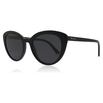 Prada PR02VS 1AB5S0 Black PR02VS Cats Eyes Sunglasses Lens Category 3 Size 54mm