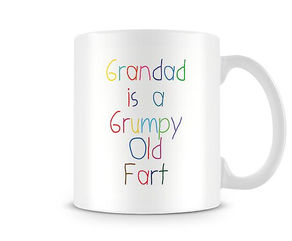 Grandad Is A Grumpy Old Fart Mug