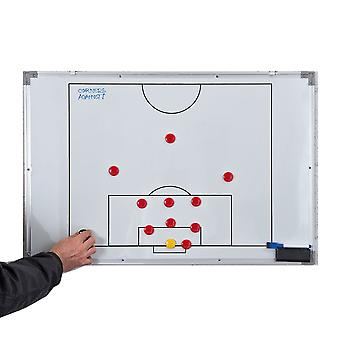 Precision Training Double-Sided Football Soccer Wall Tactics Board Large