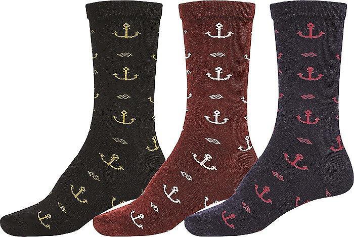 Globe Deluxe 3 Pack Socks - Assorted