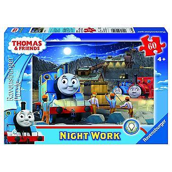 Ravensburger Thomas Night Work Jigsaw Puzzle 60 Pieces