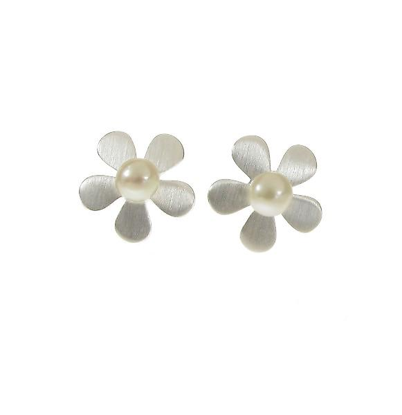 Cavendish French Lazy Daisy Silver Earrings
