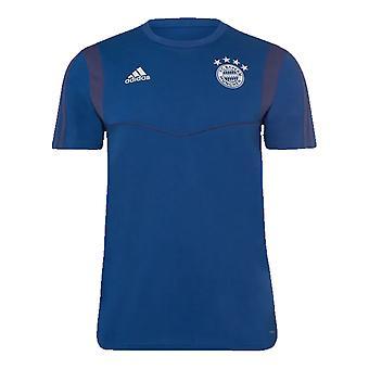 2019-2020 Bayern Munich Adidas Training Tee (Night Marine)