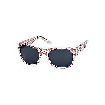 Le Specs Mafioso Sunglasses (Houndstooth)