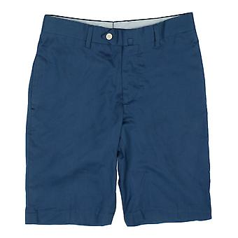 Hackett Pin-Stripe Shorts, White And Blue