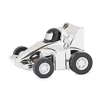 Pull Back And Go Silver Racers Toy Car Kids Fun Play