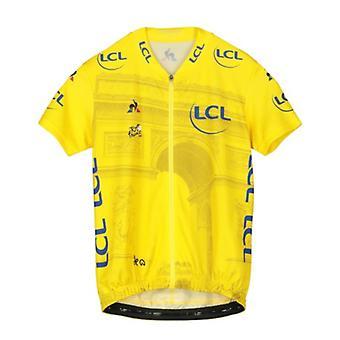 Tour de France Le Coq Sportif Kids Replica Arrivee Jersey | Yellow | 2019 | 12