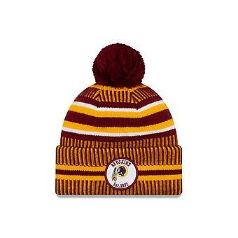 New Era Nfl Washington Redskins 2019 Sideline Home Sport Knit