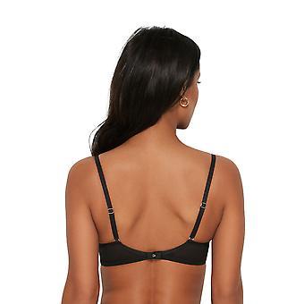 Gossard 15901 Women's VIP Bijoux Black Padded Plunge Bra