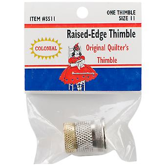 Raised Edge Thimble Size 11 Sst 11