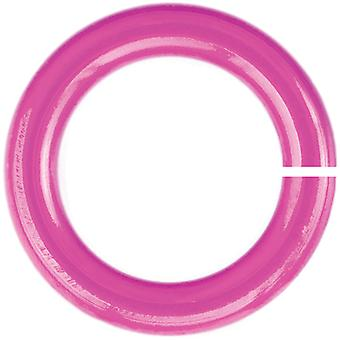Anodized Aluminum Jumprings 3.5mm 100/Pkg-Pink HPA18A35-BBGUM