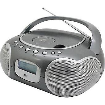 DAB+ Radio/CD SoundMaster CD4200TI AUX, CD, DAB+, FM, USB Titanium