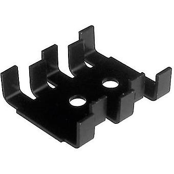 Transistor bracket 18 C/W (L x W x H) 30 x 25.4 x 7.9 mm TO 220, SOT 32 ASSMANN WSW V5236B-T