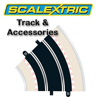Scalextric Track - courbe rayon 2 45o (2)(C151)