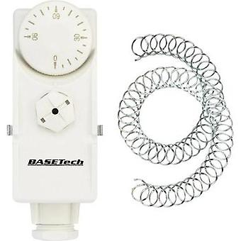 Pipe-fitted thermostat 0 up to 90 °C Basetech GB-0/90A