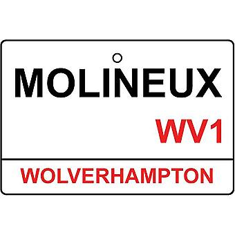 Wolverhampton / Molineux Street Sign Car Air Freshener