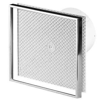 Pared azulejos baño cocina Extractor ventilador 125mm de diámetro con cable de tracción