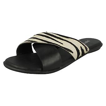 Womens Leather Collection X Strap Vamp Sandals F0935