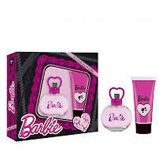Cartoons Barbie Case (Cologne + Gel) (Kindesalter , Kits , Kosmetik , Kölnisch Wasser)