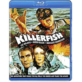 Killer fisk [BLU-RAY] USA importerer