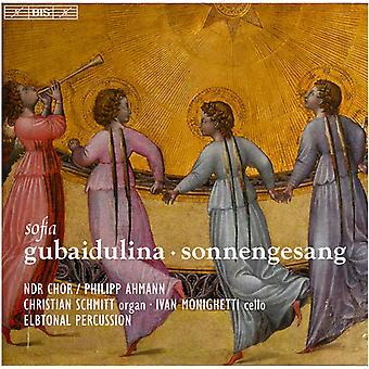 Gubaidulina / Schmitt / Monighetti / Percussion - Sofia Gubaidulina: Sonnengesang [SACD] USA import