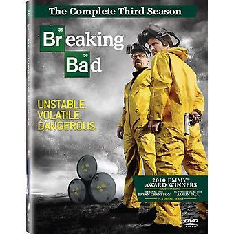 Breaking Bad: The Complete Third Season [4 Discs] [DVD] USA import