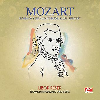 Mozart - symfoni No. 41 i C store K. 551 Jupiter [CD] USA importerer