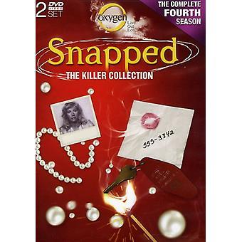 Snapped: Killer samling: sæson 4 [DVD] USA import