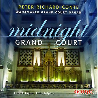Peter Richard Conte - midnat i Grand Court [CD] USA importen