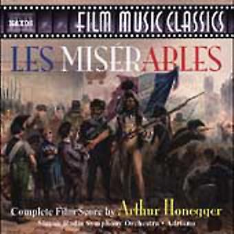Arthur Honegger - Honegger: Les Miserables (komplette Filmmusik) [CD] USA Import