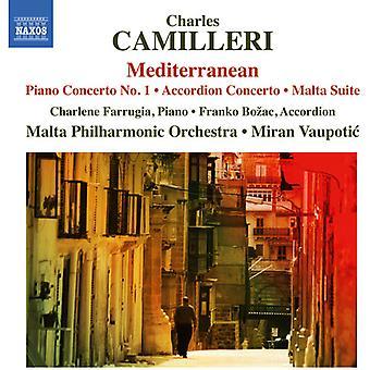 Camilleri / Farrugia / Bozac / Malte Philharmonic - Concerto pour Piano n ° 1 - Concerto pour accordéon [CD] USA import