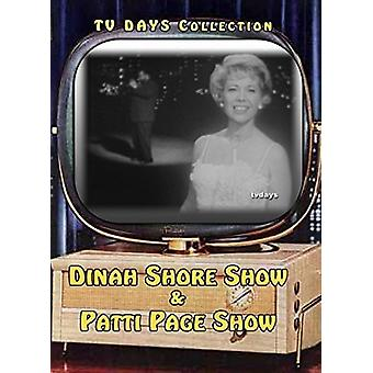 Dinah Shore Show / Patti Page Show [DVD] USA import