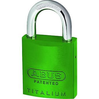 ABUS 40mm aluminum padlock without cylinder nano bow (DIY , Hardware)