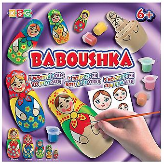 KSG Baboushka russo bambola Craft Kit