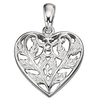 925 серебряные модные сердце ожерелье