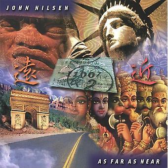 John Nilsen - mest i nærheden af [CD] USA import