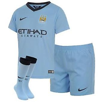 2014-2015 Man City Home Nike Baby Kit