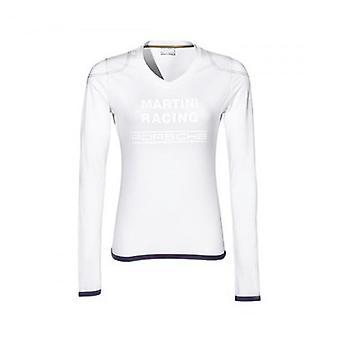 Porsche Design Martini Racing damer lang ærmet T-shirt hvid