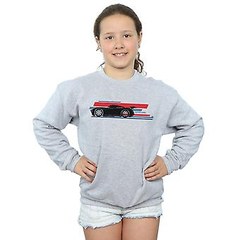 Disney Girls Cars Jackson Storm Stripes Sweatshirt