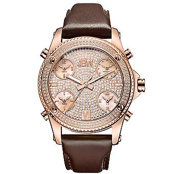 JBW gentlemen 1.36 ct diamond watch - JET SETTER rose gold