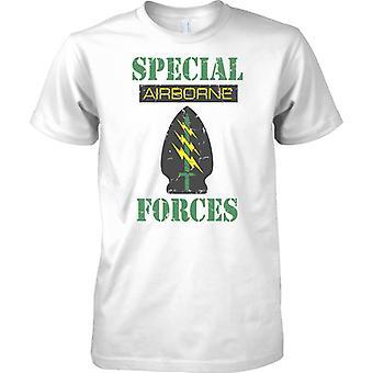 Special Forces luftburna - gröna baskrarna - barn T Shirt