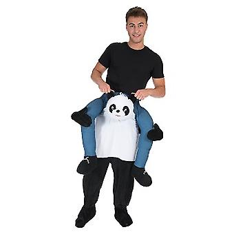 Panda piggyback bære mig rider kostume