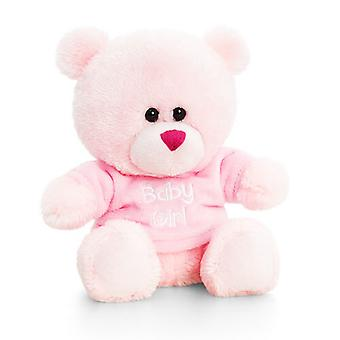 Keel Toys 14cm Baby Pipp The Bear With T-Shirt
