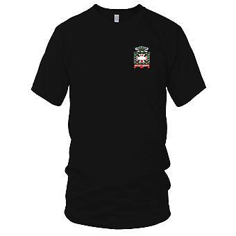 Ejército de Estados Unidos - 4 de infantería Me bordado parche - Nol Tangere Mens T Shirt